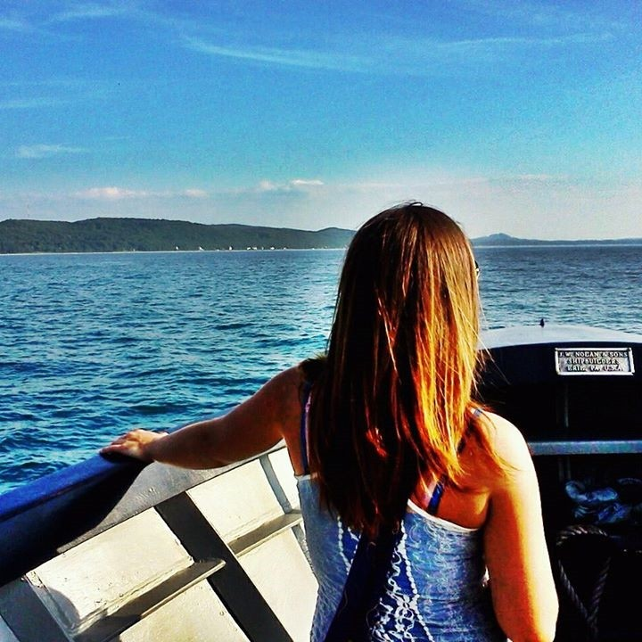 becky boat by manitou islands