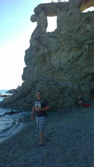 Gelato on the beach!