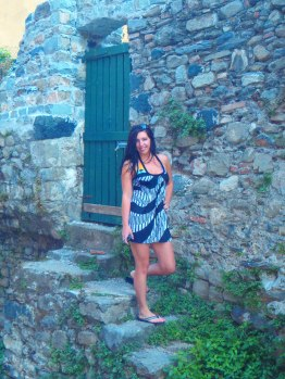 A cool old house we found in Monterosso