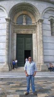 Doors to the Pisa Baptistry