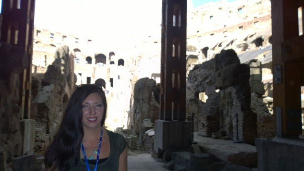 Lower level of the Colosseum