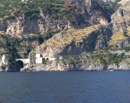 Ferry ride from Positano to Sorrento