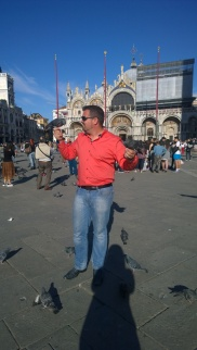 Pigeons in St. Mark's Square