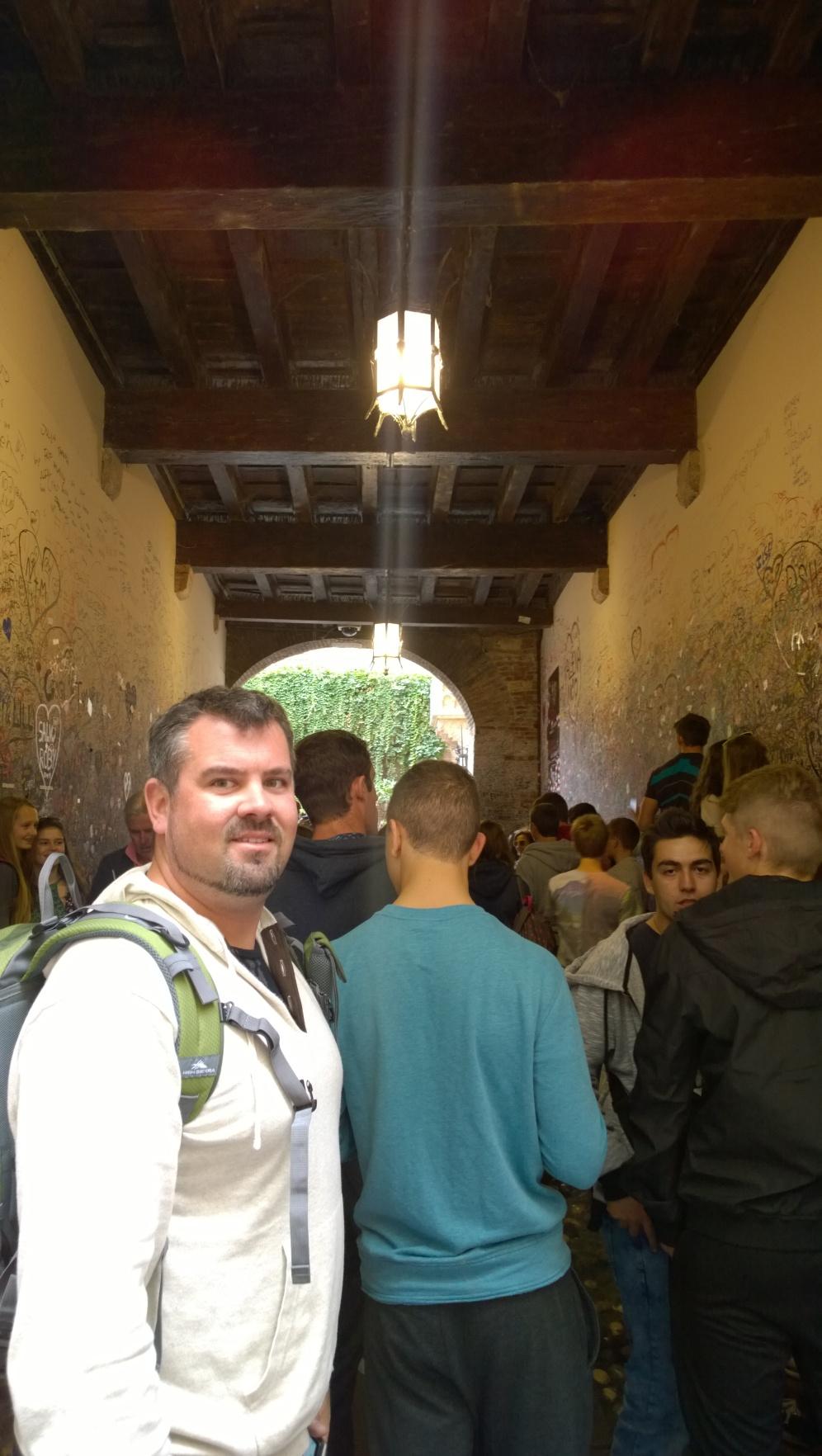 Entryway to Casa di Giulietta