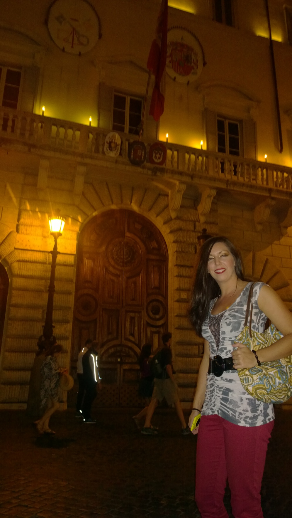 Cool old doorway in Rome